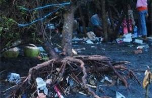 Sampah Pantai Kwaru